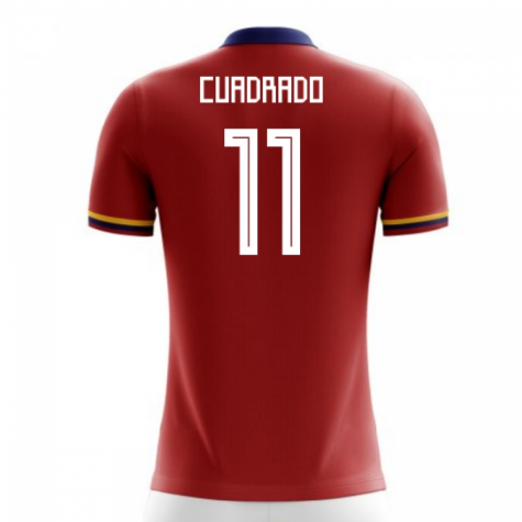 2020-2021 Colombia Away Concept Football Shirt (Cuadrado 11) - Kids