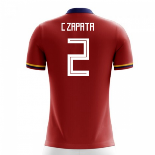 2020-2021 Colombia Away Concept Football Shirt (C.Zapata 2) - Kids