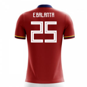 2018-2019 Colombia Away Concept Football Shirt (E.Balanta 25)