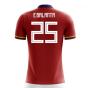 2018-2019 Colombia Away Concept Football Shirt (E.Balanta 25) - Kids