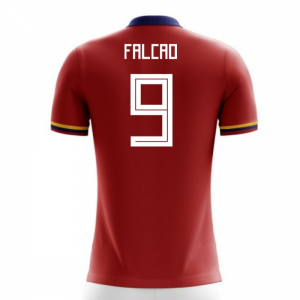 2018-2019 Colombia Away Concept Football Shirt (Falcao 9)