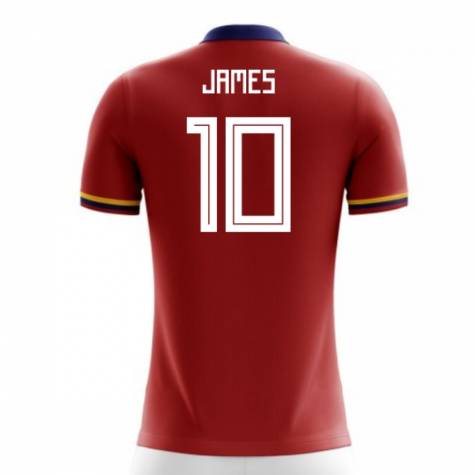 2018-2019 Colombia Away Concept Football Shirt (James 10) - Kids