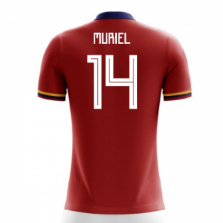 2018-2019 Colombia Away Concept Football Shirt (Muriel 14) - Kids