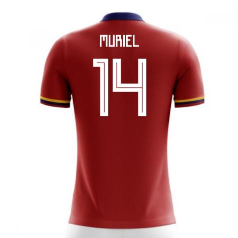2018-2019 Colombia Away Concept Football Shirt (Muriel 14) - Kids