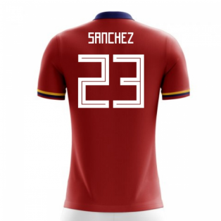 2018-2019 Colombia Away Concept Football Shirt (Sanchez 23) - Kids