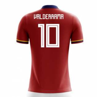 2018-2019 Colombia Away Concept Football Shirt (Valderrama 10)