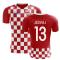 2018-2019 Croatia Flag Concept Football Shirt (Jedvaj 13)