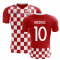 2020-2021 Croatia Flag Concept Football Shirt (Modric 10)