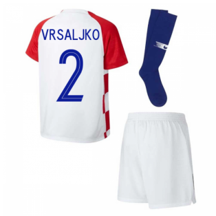 2018-2019 Croatia Home Nike Mini Kit (Vrsaljko 2)