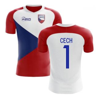 2020-2021 Czech Republic Home Concept Football Shirt (CECH 1) - Kids