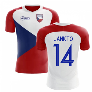2020-2021 Czech Republic Home Concept Football Shirt (JANKTO 14) - Kids