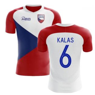 2020-2021 Czech Republic Home Concept Football Shirt (KALAS 6) - Kids