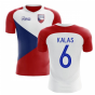 2020-2021 Czech Republic Home Concept Football Shirt (KALAS 6) - Kids