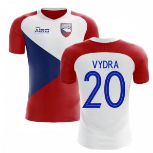 2018-2019 Czech Republic Home Concept Football Shirt (VYDRA 20)