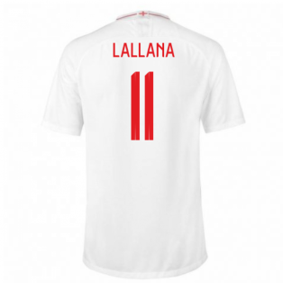 2018-2019 England Home Nike Football Shirt (Lallana 11) - Kids