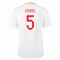 2018-2019 England Home Nike Football Shirt (Stones 5) - Kids