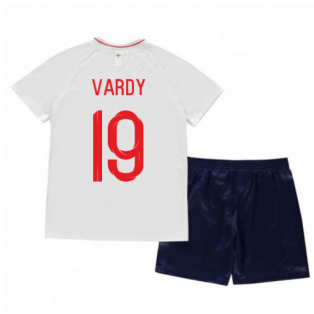 2018-2019 England Home Nike Mini Kit (Vardy 11)