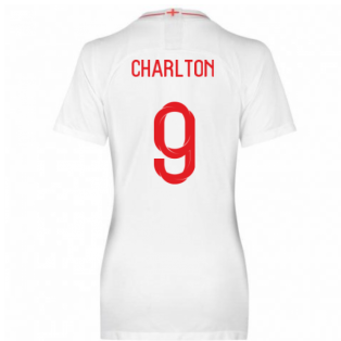 2018-2019 England Home Nike Womens Shirt (Charlton 9)