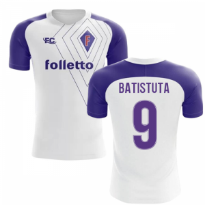 2018-2019 Fiorentina Fans Culture Away Concept Shirt (Batistuta 9)