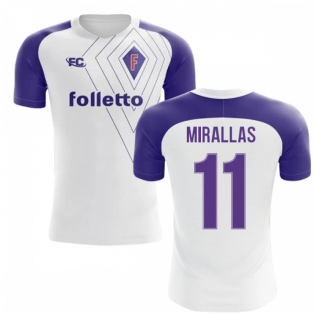 2018-2019 Fiorentina Fans Culture Away Concept Shirt (Mirallas 11)