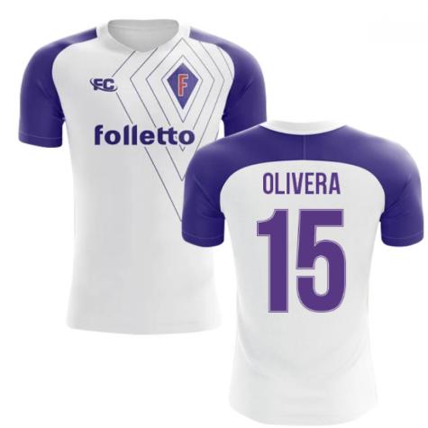 2018-2019 Fiorentina Fans Culture Away Concept Shirt (Olivera 15)