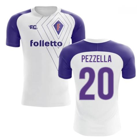 2018-2019 Fiorentina Fans Culture Away Concept Shirt (Pezzella 20)