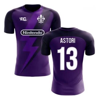 2018-2019 Fiorentina Fans Culture Home Concept Shirt (Astori 13)