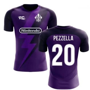2018-2019 Fiorentina Fans Culture Home Concept Shirt (Pezzella 20)