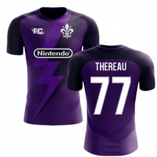 2018-2019 Fiorentina Fans Culture Home Concept Shirt (Thereau 77)