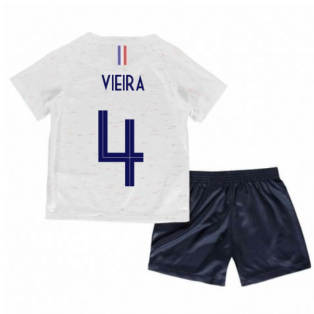 2018-2019 France Away Nike Baby Kit (Vieira 4)