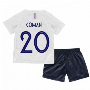 2018-2019 France Away Nike Little Boys Mini Kit (Coman 20)
