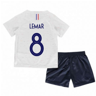 2018-2019 France Away Nike Little Boys Mini Kit (Lemar 8)