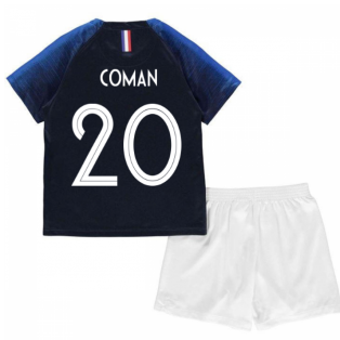 2018-2019 France Home Nike Baby Kit (Coman 20)