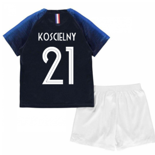 2018-2019 France Home Nike Mini Kit (Koscielny 21)