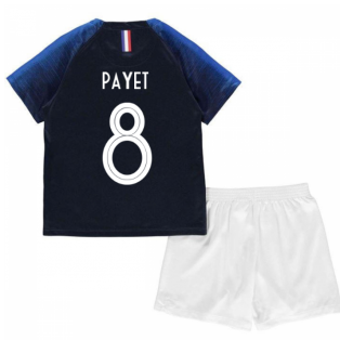 2018-2019 France Home Nike Mini Kit (Payet 8)