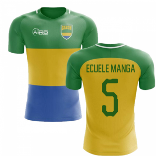 2018-2019 Gabon Home Concept Football Shirt (Ecuele Manga 5)