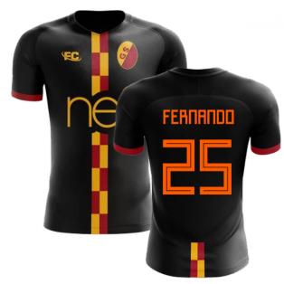 2018-2019 Galatasaray Fans Culture Away Concept Shirt (Fernando 25)