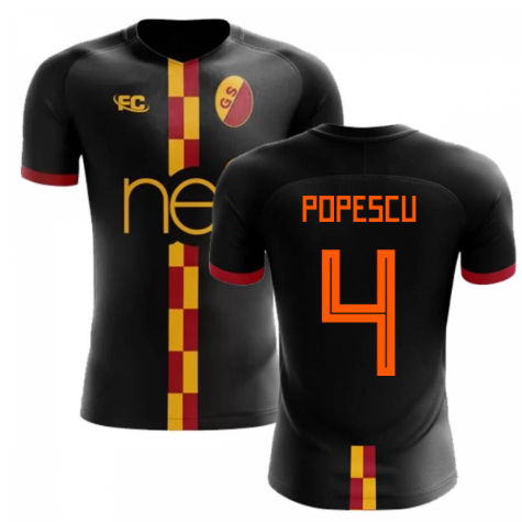 2018-2019 Galatasaray Fans Culture Away Concept Shirt (Popescu 4) - Little Boys