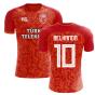 2018-2019 Galatasaray Fans Culture Home Concept Shirt (Belhanda 10) - Womens