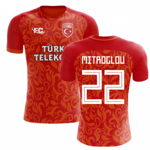 2018-2019 Galatasaray Fans Culture Home Concept Shirt (Mitroglou 22)
