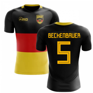 2018-2019 Germany Flag Concept Football Shirt (Beckenbauer 5)