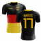 2018-2019 Germany Flag Concept Football Shirt (Boateng 17)