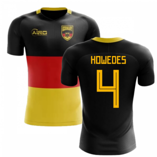 2020-2021 Germany Flag Concept Football Shirt (Howedes 4)