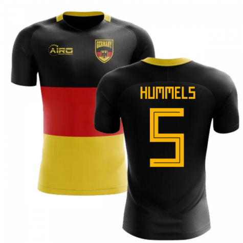 2020-2021 Germany Flag Concept Football Shirt (Hummels 5)