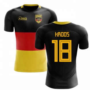 2018-2019 Germany Flag Concept Football Shirt (Kroos 18)