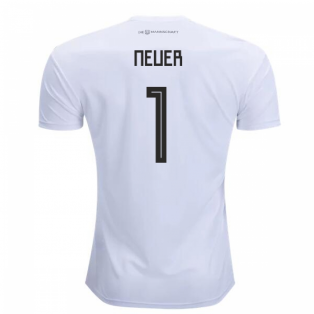 2018-2019 Germany Home Adidas Football Shirt (Neuer 1) - Kids
