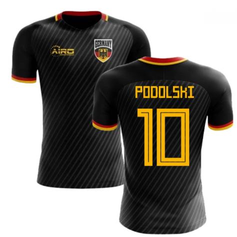 2020-2021 Germany Third Concept Football Shirt (Podolski 10)
