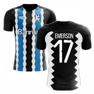 2018-2019 Gremio Fans Culture Home Concept Shirt (Emerson 17)