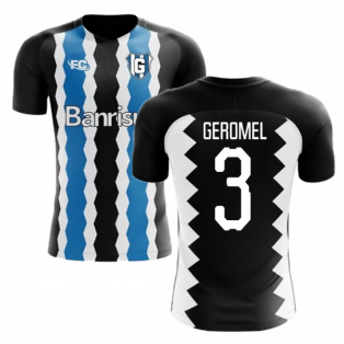 2018-2019 Gremio Fans Culture Home Concept Shirt (Geromel 3) - Little Boys