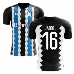 2018-2019 Gremio Fans Culture Home Concept Shirt (Jardel 16) - Womens